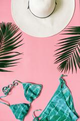 Summer holidays minimalist style concept