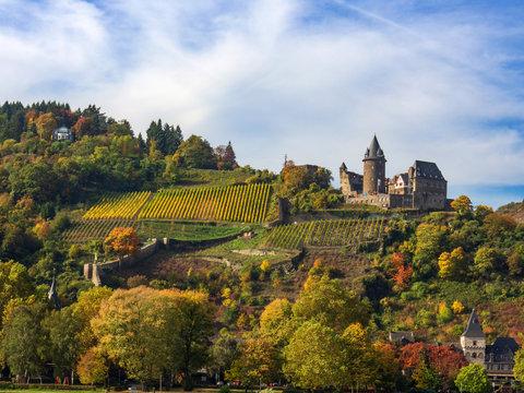 Burg Stahleck bei Bacharach am Rhein