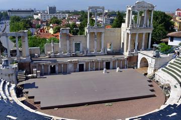 Bulgaria, Plovdiv , Roman Theater