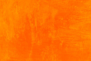 orange grunge wall for texture background