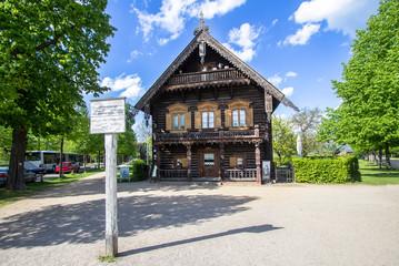 House on the Russian Colony Alexandrowka, Potsdam, Germany