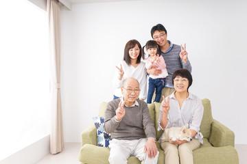家族 集合写真