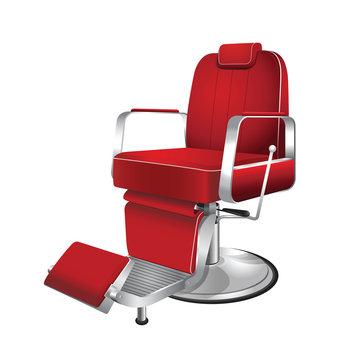 Barber chair vintage