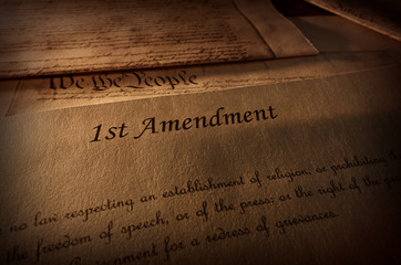 First Amendment text