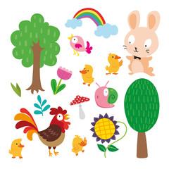 animals character design