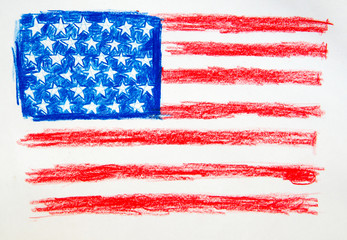 USA Flag Pencil