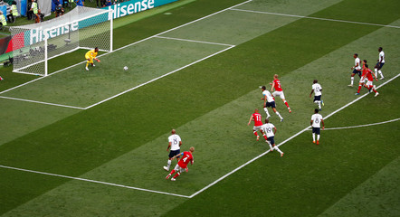 World Cup - Group C - Denmark vs France
