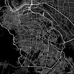 Area map of Juárez, Mexico