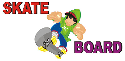 skate, skateboard, board, skateboarding, riding, ride, boy, colored, word