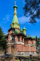 Orthodox All Saints Church in Priozersk, Russia.