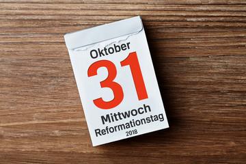 Kalender - Reformationstag