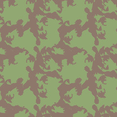 Camo background in green and brown colors