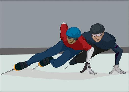 Speed Skaters