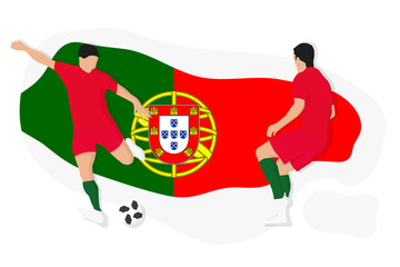 Portugal football team fifa world cup soccer 2018 championship