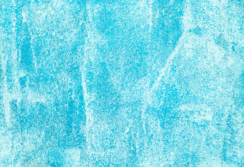 Blue grunge textured wall