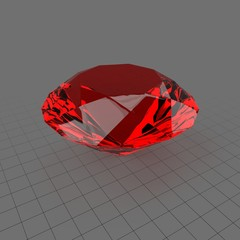 Stylized diamond