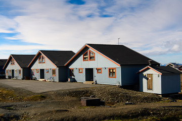 Architecture of Longyearbyen, Svalbard, Norway