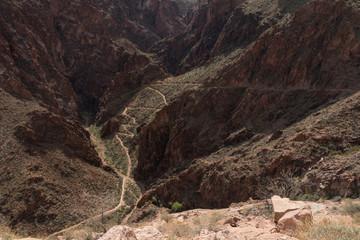 Tonto Trail at Grand Canyon National Park, Arizona, USA
