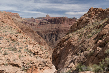 Tonto Trail at Grand Canyon National Park, Arizona, USA