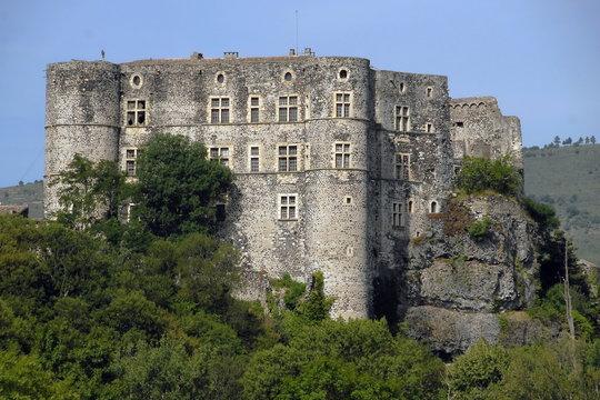 Château d'Alba la Romaine, Ardèche, france