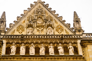 Reims Cathedral (Notre-Dame) is a Roman Catholic church in Reims, France