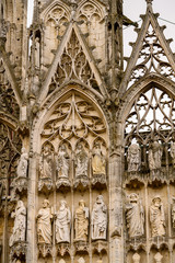 Rouen Cathedral, a Catholic church in Rouen, Normandy, France