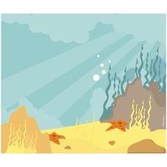 under water coral reef sea ocean scenery background