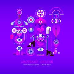 Modern Abstract Design vector illustration