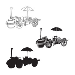 Steam_car_doodle_set