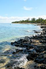 Beach of Reunion, Saline Les Bains, Reunion Island