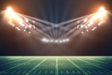 american football stadium. Mixed photos
