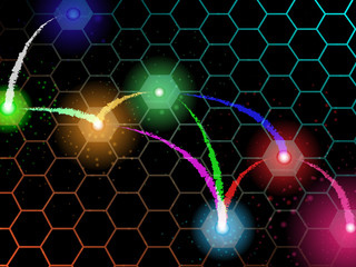 Abstract background image of the circuit. Technology concept. Vector illustration.