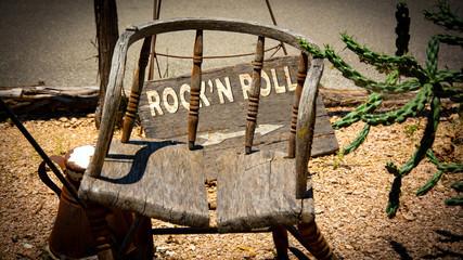 Schild 335 - Rockn Roll