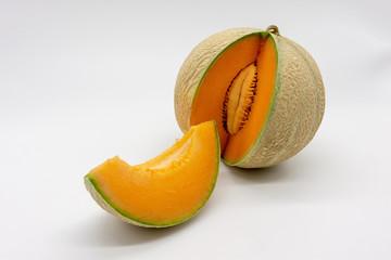 a charentais / cantalupe melon