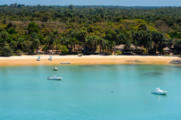 An island of the Bissagos Archipelago (Bijagos), Guinea Bissau.  UNESCO Biosphere Reserve