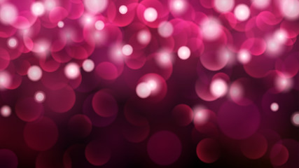 Abstract dark background with bokeh effects in pink colors
