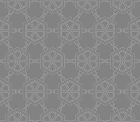 geometric modern seamless fashion pattern. Vector illustration.