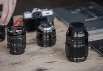 Lenses for mirrorless cameras