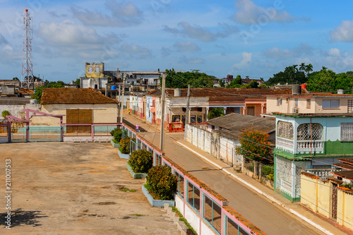 Architecture Of Matanzas One Of The Major Provinces In Cuba Stock