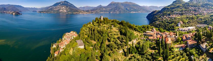 Castello di Vezio - Varenna - Lago di Como (IT) - Vista aerea