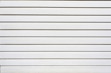 white plastic siding panels for texture background