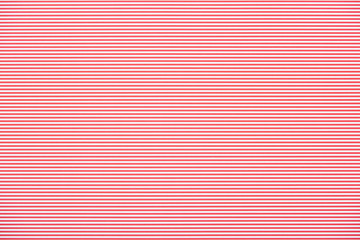 Striped horizontal red and white pattern texture