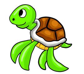 Adorable Sea Turtle