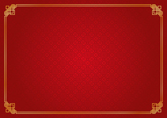 chinese new year background, abstract oriental wallpaper, rhombus window inspiration, vector illustration