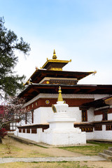Kyichu Lhakhang, an important Himalayan Buddhist temple of Paro Valley, Bhutan