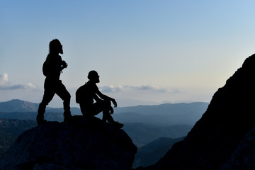 enchanting mountain ranges and successful mountaineers