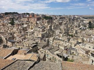 Matera, Panorama und Sehenswürdigkeiten der Felsenstadt / Höhlenstadt in Italien - Kulturhauptstadt Europas 2019