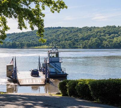 Augusta Kentucky Ferry Launching