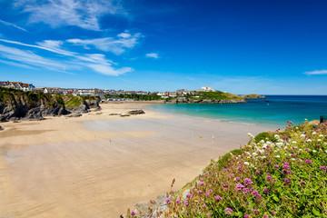 Great Western Beach Newquay Cornwall England