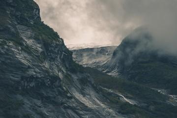Wall Mural - Norwegian Glacier Landscape